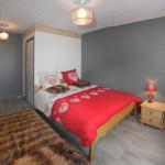 Chambre 4 avec lit double + lit 1 personne